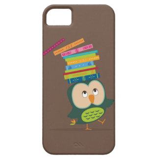 Cute little book owl iPhone 5/5S covers