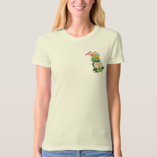 Cute little book owl T-Shirt