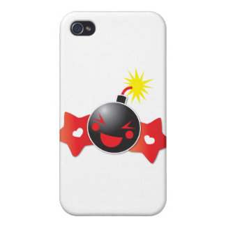 cute little boom! bomb iPhone 4 cover