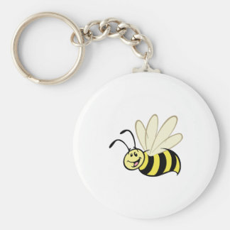 Cute little bumble bee key ring