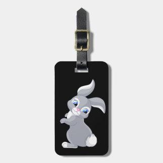 Cute little Bunny Rabbit Luggage Tag