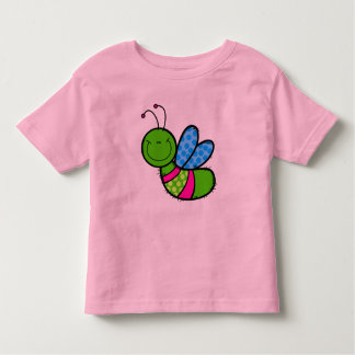 Cute little colorful bee toddler T-Shirt