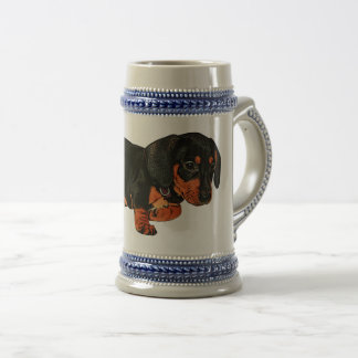 Cute Little Dachshund Design Mug