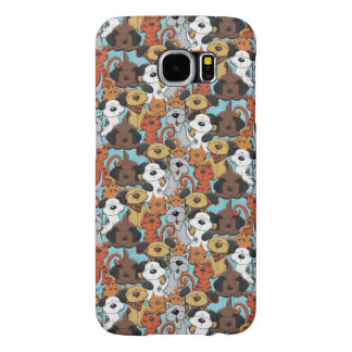 Cute little Dogs and Cats Samsung Galaxy S6 Cases