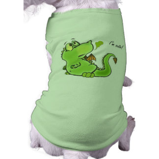 Cute little dragon pet shirt