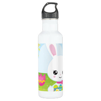 Cute Little Easter Bunny 710 Ml Water Bottle