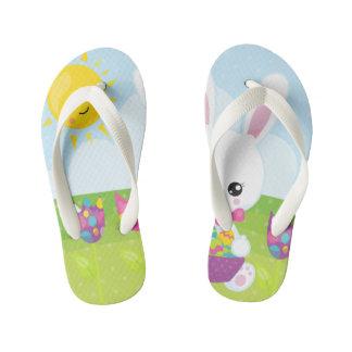 Cute Little Easter Bunny Kid's Thongs