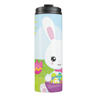 Cute Little Easter Bunny Thermal Tumbler