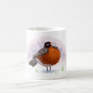 Cute little Fat Robin Coffee Mug