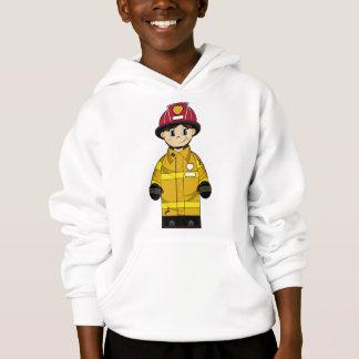 Cute Little Fireman Hoodie