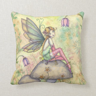 Cute Little Flower Fairy Girls Pillow