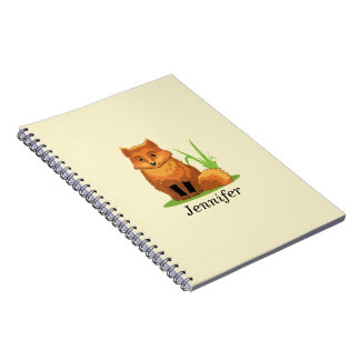 Cute Little Fox Back to School Notebook