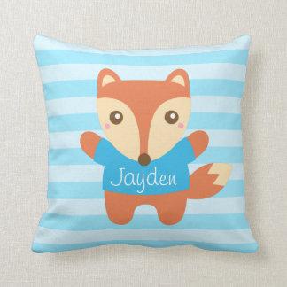 Cute Little Fox for Kids Room Cushion