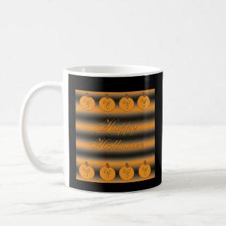 Cute Little Frightened Pumpkins Mug