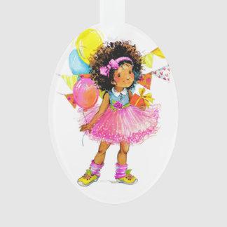 Cute Little Girl Ornament