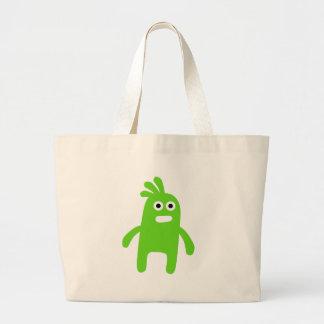 Cute Little Green Monster Bag