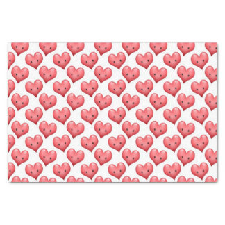 Cute Little Hearts Tissue Paper