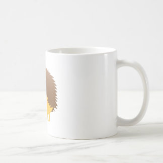 cute little hedgehog coffee mug