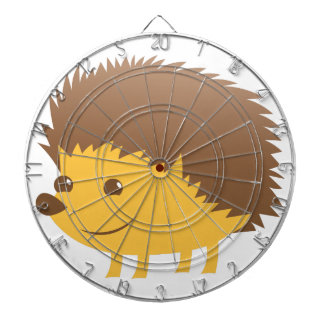 cute little hedgehog dartboard