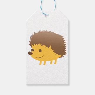 cute little hedgehog gift tags