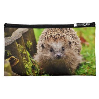 Cute Little Hedgehog in the Forest Cosmetic Bag