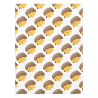 cute little hedgehog tablecloth