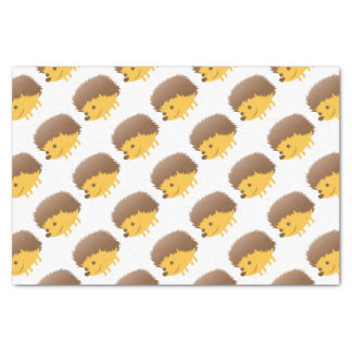 cute little hedgehog tissue paper