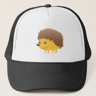 cute little hedgehog trucker hat