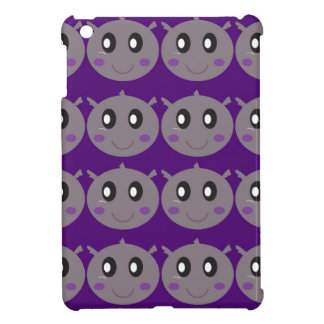 Cute little Hippos design Case For The iPad Mini
