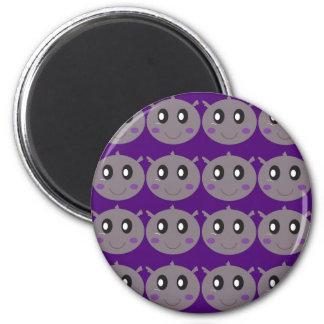 Cute little Hippos design Magnet