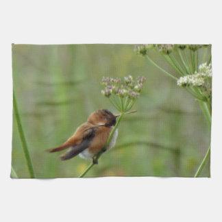Cute little Hummingbird Tea Towel