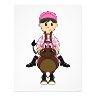 Cute Little Jockey Flyer