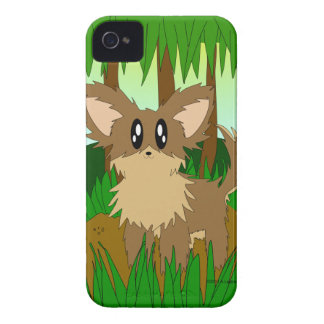 Cute Little Jungle Forest Puppy Dog iPhone4 Case