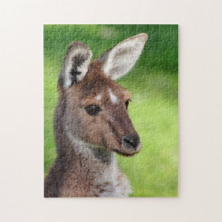 Cute Little Kangaroo Jigsaw Puzzle