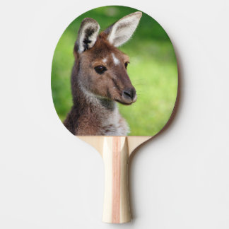 Cute Little Kangaroo Ping Pong Paddle