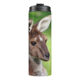 Cute Little Kangaroo Thermal Tumbler
