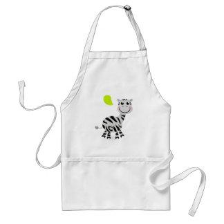 Cute little kids zebra standard apron