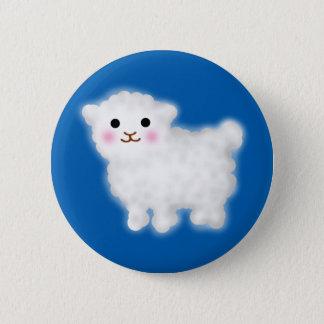 Cute Little Lamb 6 Cm Round Badge