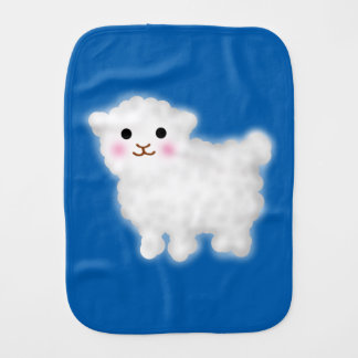 Cute Little Lamb Burp Cloth