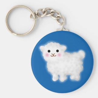 Cute Little Lamb Key Ring