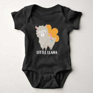 Cute little llama baby unisex bodysuit