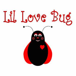 Cute Little Love Bug Ladybug Ornament Acrylic Cut Outs