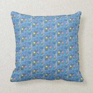 Cute little lovely flowers Throw Cushion 41x 41 cm