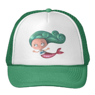 Cute Little Mermaid Cap