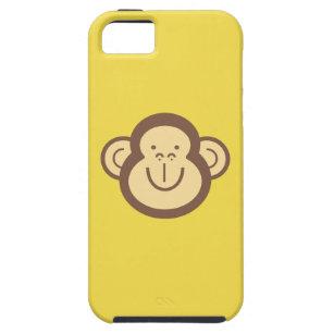 Cute Little Monkey Face Tough iPhone 5 Case