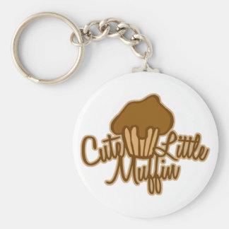 Cute Little Muffin Key Ring