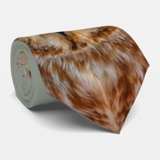 Cute Little Northern Saw Whet Owl Tie