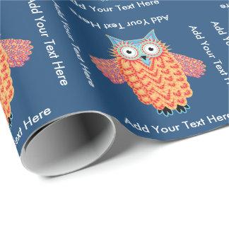Cute Little Owl Personalised Bird Lover