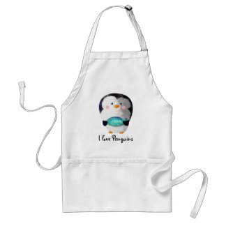 Cute Little Penguin Aprons