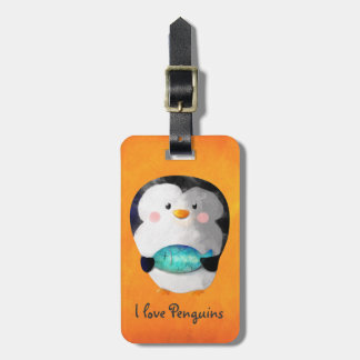 Cute Little Penguin Bag Tag